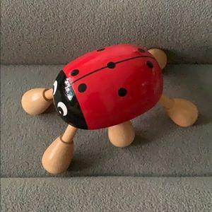Ladybug 🐞 Wooden Massager